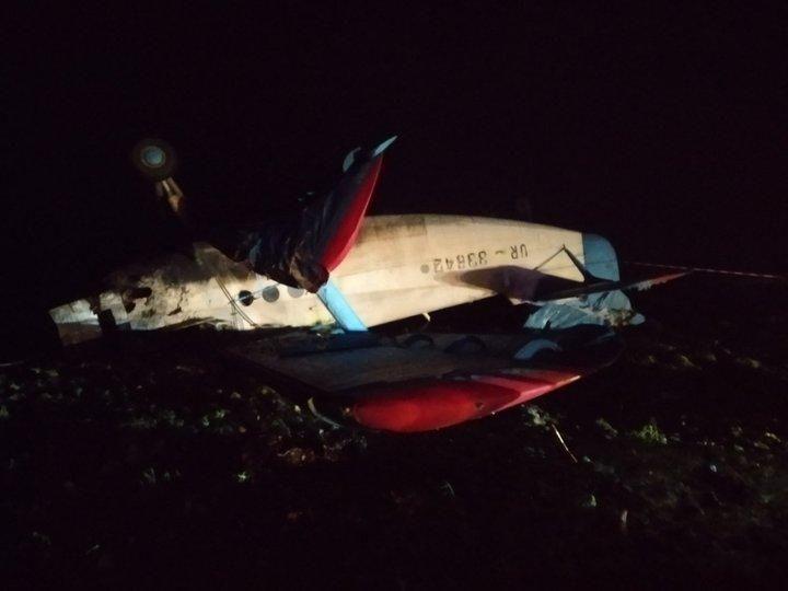 Авіакатастрофа на Тернопільщіні