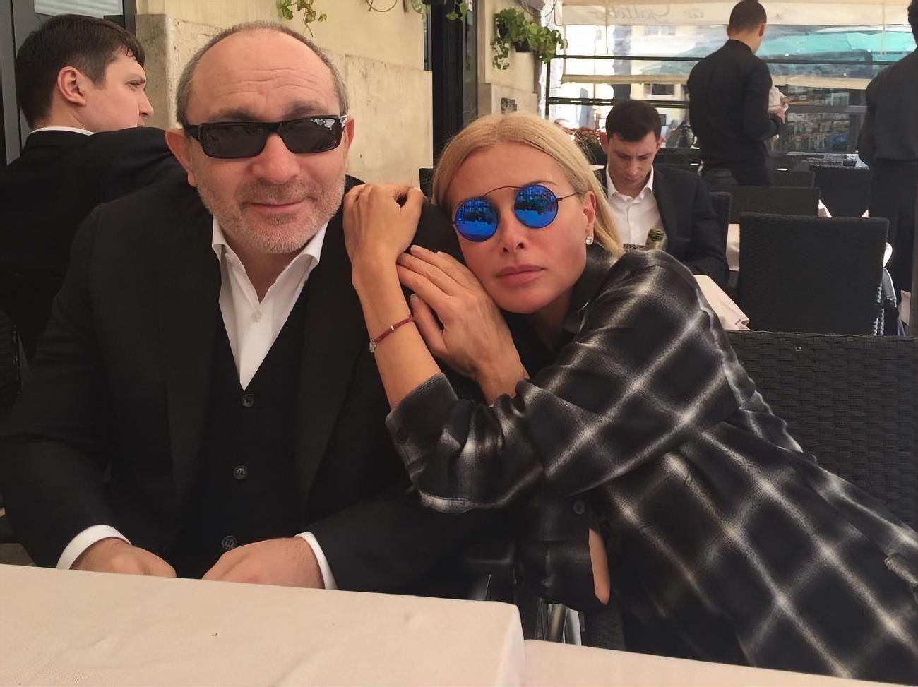 Кернес із дружиною Оксаною Гайсинською