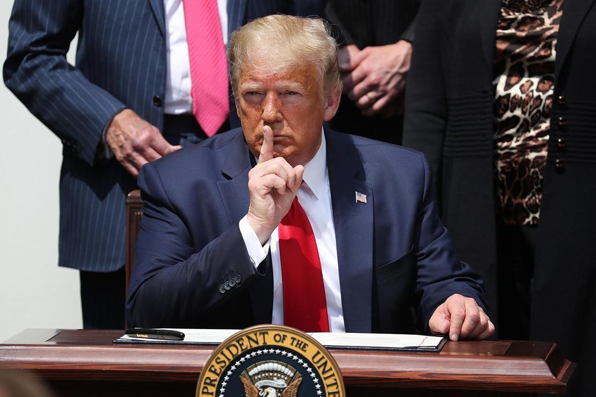 Почему президент США и будет призывать протестующих к спокойствию