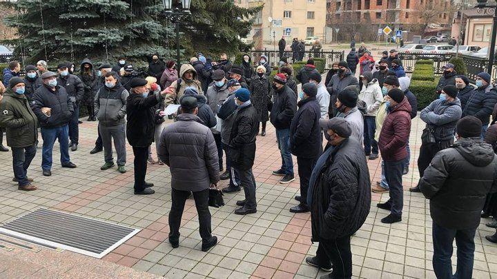 Мітинг в Івано-Франківську