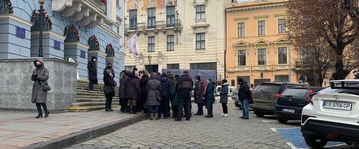 Протест у Чернівцях