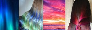 Это просто магия: американский стилист красит волосы в цвета Вселенной – фото