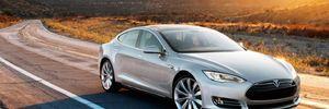 Электромобиль Tesla Model 3 взорвался на парковке в Шанхае