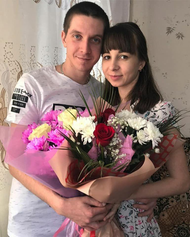 Загиблий Дзюбенко разом з дружиною