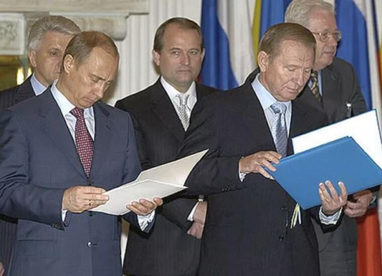 Медведчук у компанії Путіна та Кучми