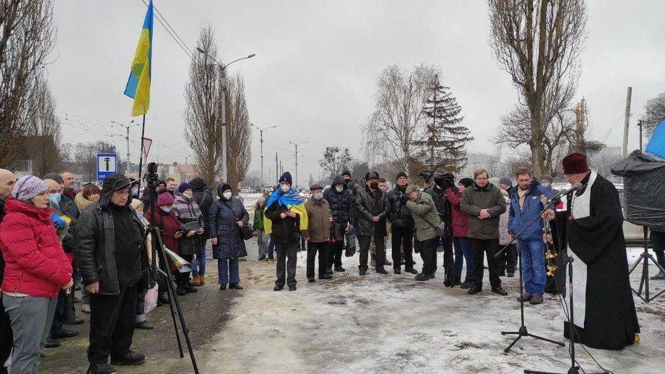 Шоста річниця теракту біля Палацу спорту у Харкові