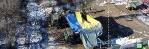 На Донбасі помітили радіолокаційну станцію Росії, замасковану під українську