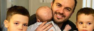 Григорій Решетник вперше показав обличчя сина: чуттєве фото
