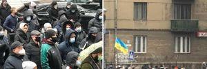Прикарпаття та Буковина протестують через введення жорсткого карантину: фото