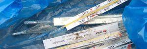 У Києві на дитячому майданчику знайшли розбиті ртутні термометри