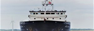 На Херсонской верфи модернизировали сухогрузное судно Gelius 1