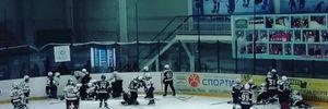 В России 10-летние хоккеисты устроили массовую драку: видео