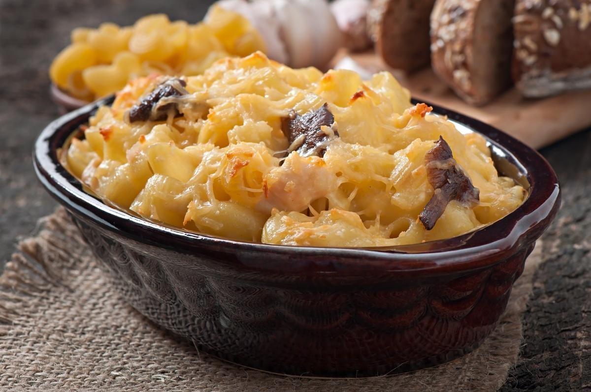 👌 Курица с грибами и сыром в духовке, рецепты с фото