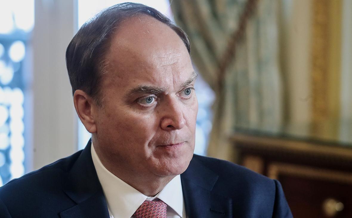 Посол Анатолій Антонов