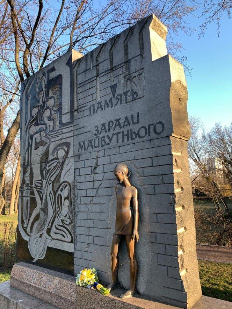 Зеленський вшанував пам'ять жертв нацистських концтаборів