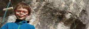 8-летний мальчик установил мировой рекорд в скалолазании, пройдя сложный маршрут