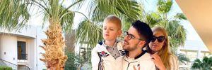 Julik с женой и сыном отправился в отпуск: яркие фото из Египта