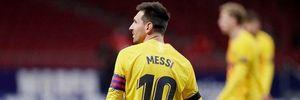Футболисты сделали очередь, чтобы сфотографироваться с Месси после финала Кубка Короля: видео