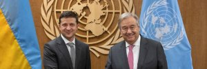 Зеленский поговорил с Генсеком ООН о вакцинации и ситуации на границе