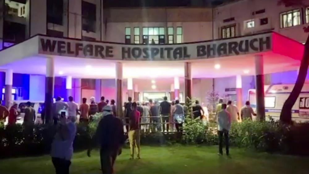 Пожежа у лікарні Індії
