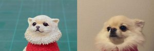 Японський художник робить фігурки з кумедних фото тварин: виходить дуже смішно