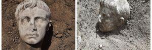 В Італії археологи відкопали мармурову голову першого римського імператора