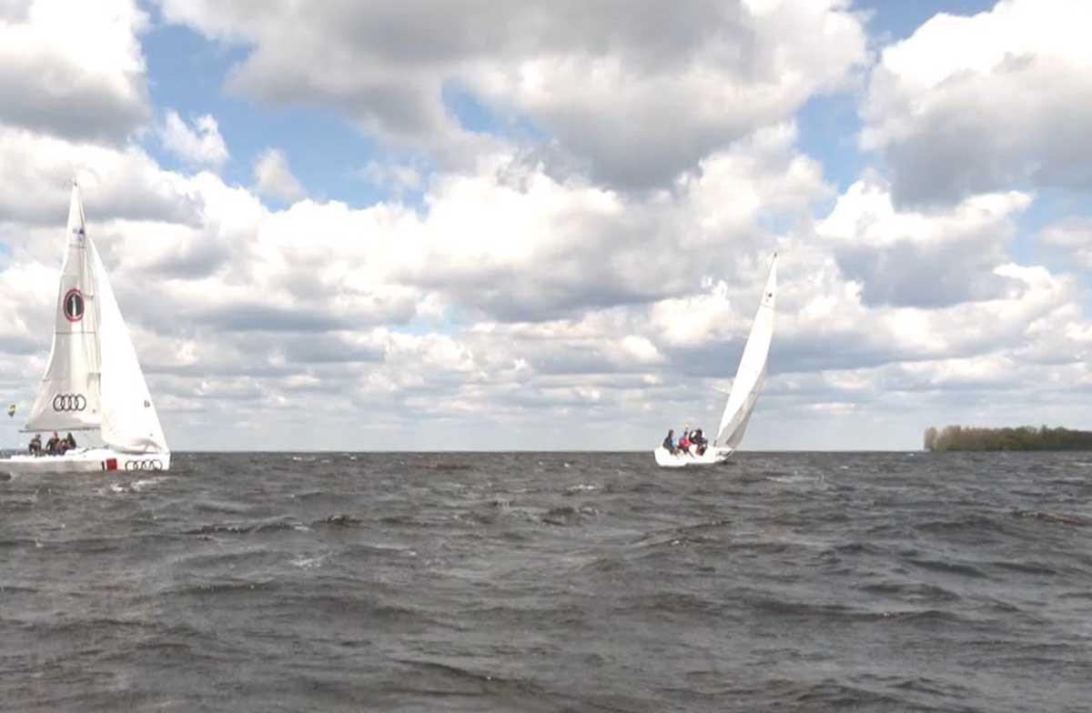 На Киевщине состоялась яхтенная регата Майские паруса