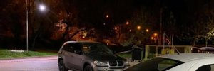 Момент обстрела BMW из гранатомета в Ивано-Франковске попал на видео