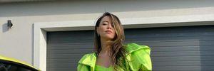 Надя Дорофеева очаровала образом в брендовом мини-платье за 49 тысяч гривен