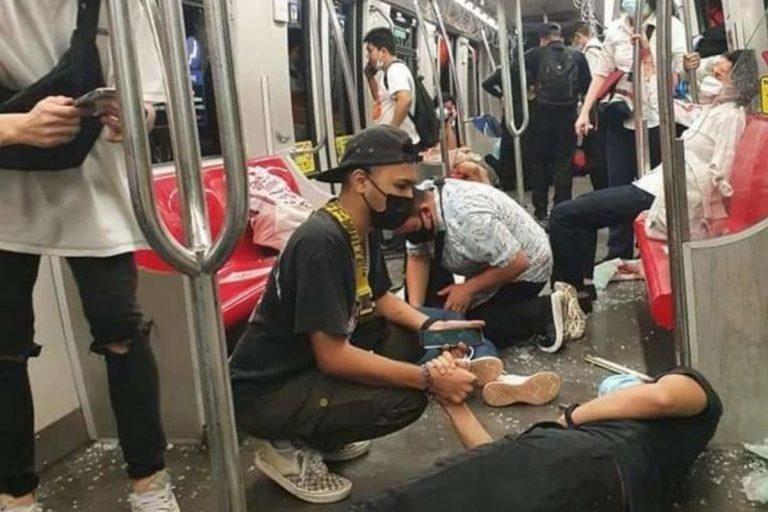 Аварія потягів у Малайзії