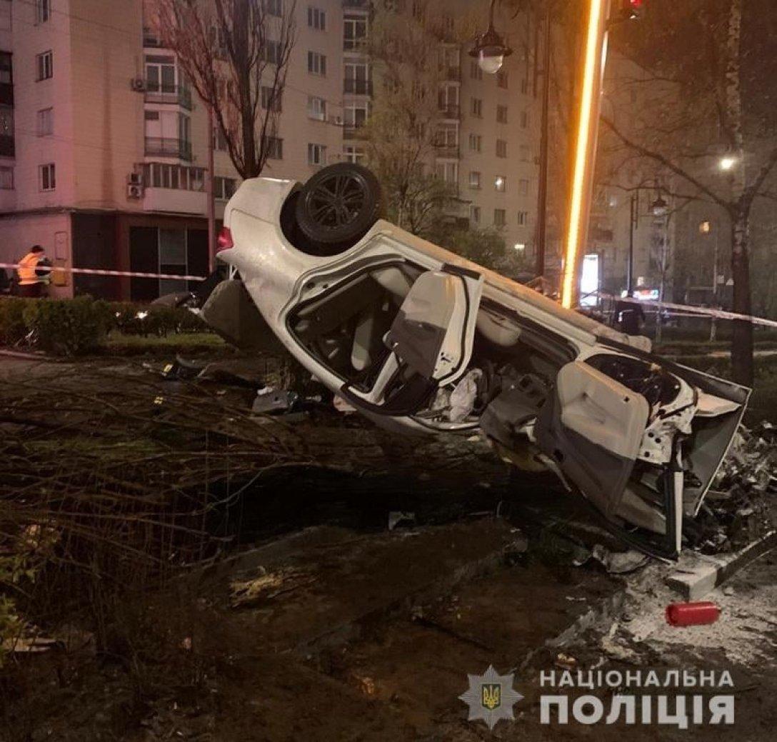 ДТП на бульварі Лесі Українки