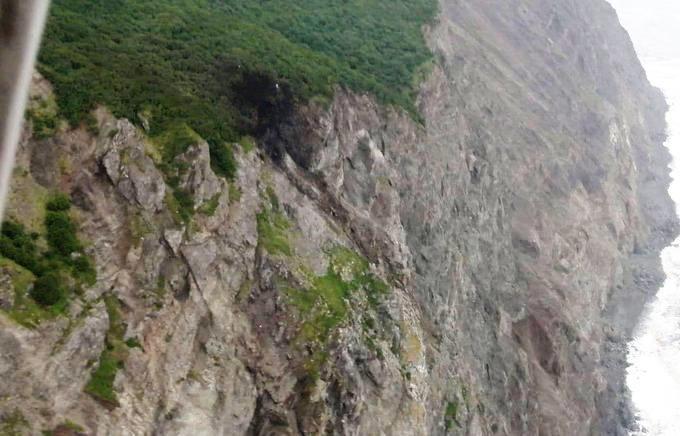 Місце падіння Ан-26 на Камчатці