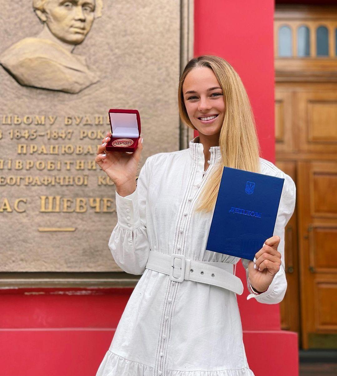 Дарія Білодід отримала диплом бакалавра