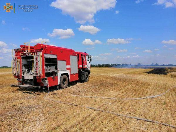 Вогонь гасили 5 рятувальників
