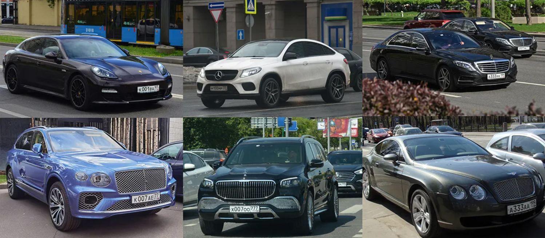 Елітний автопарк Світлани Полякової та її родичів