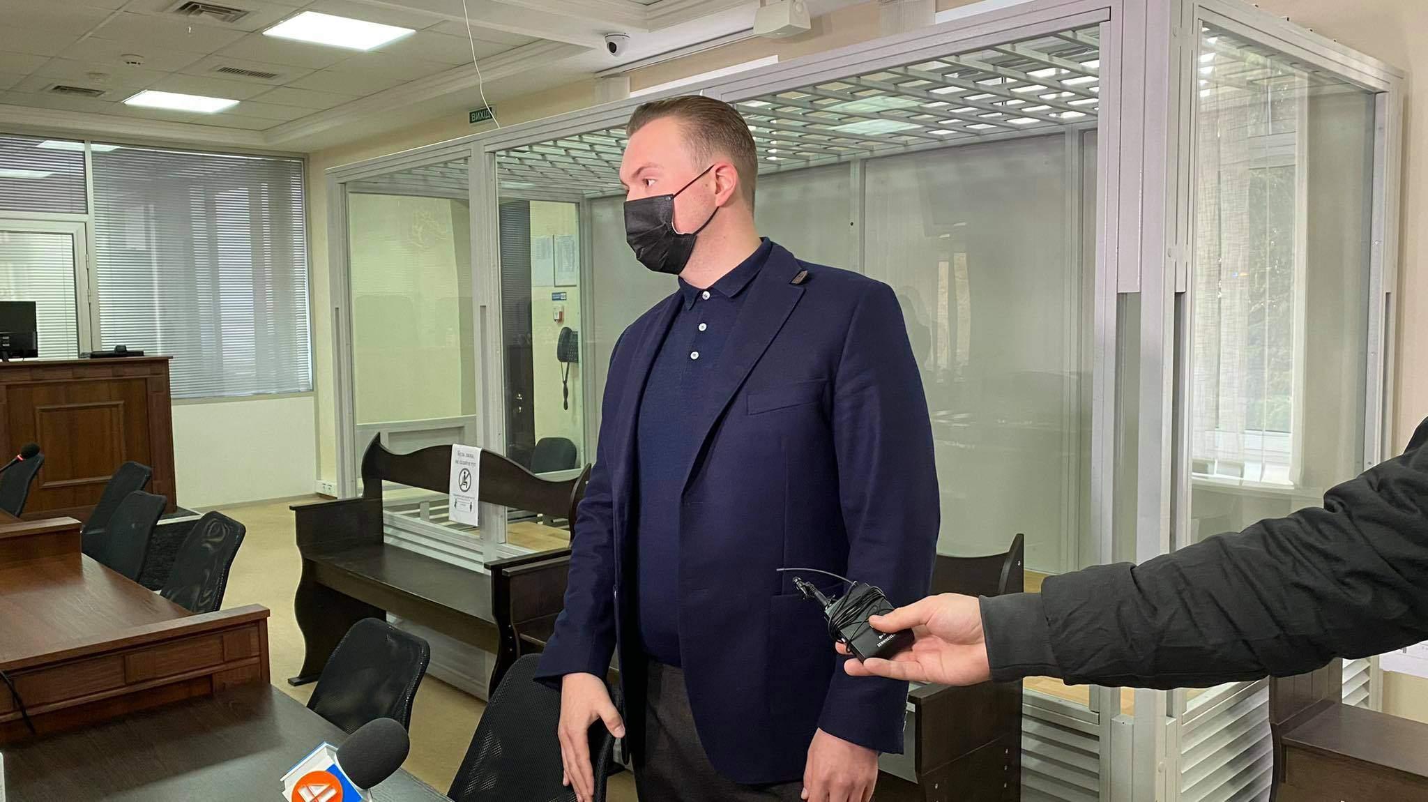 Гладковський-молодший у суді