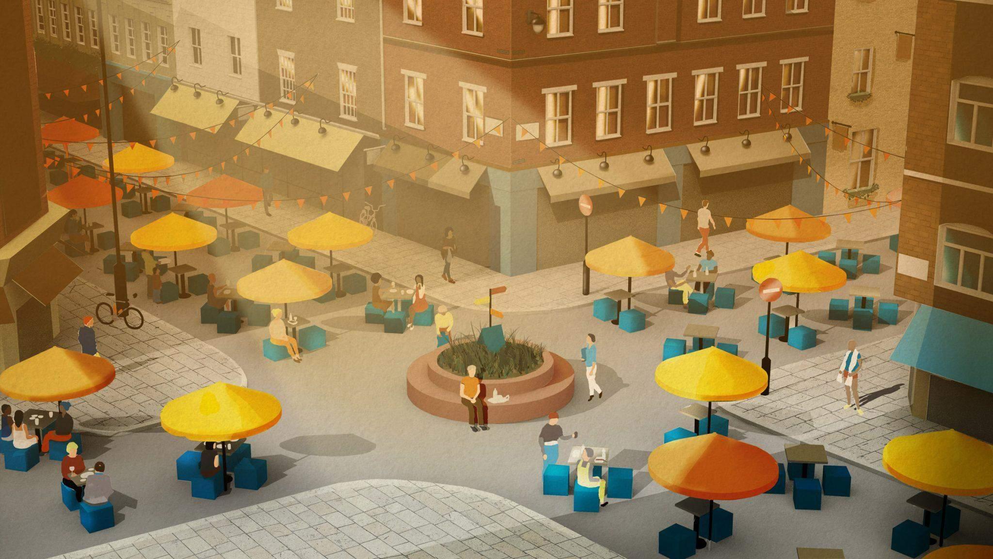 Приклад організації безпечного публічного простору