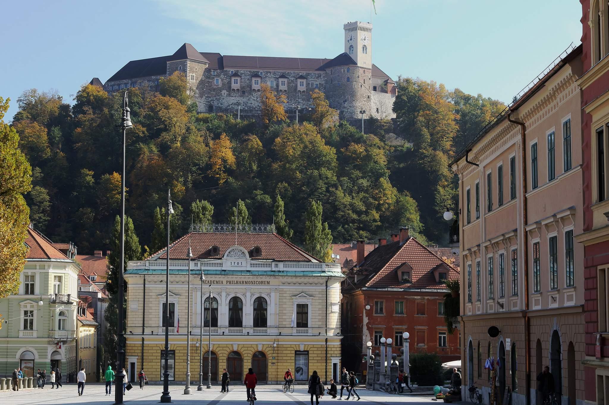 Так виглядає Люблянський Град