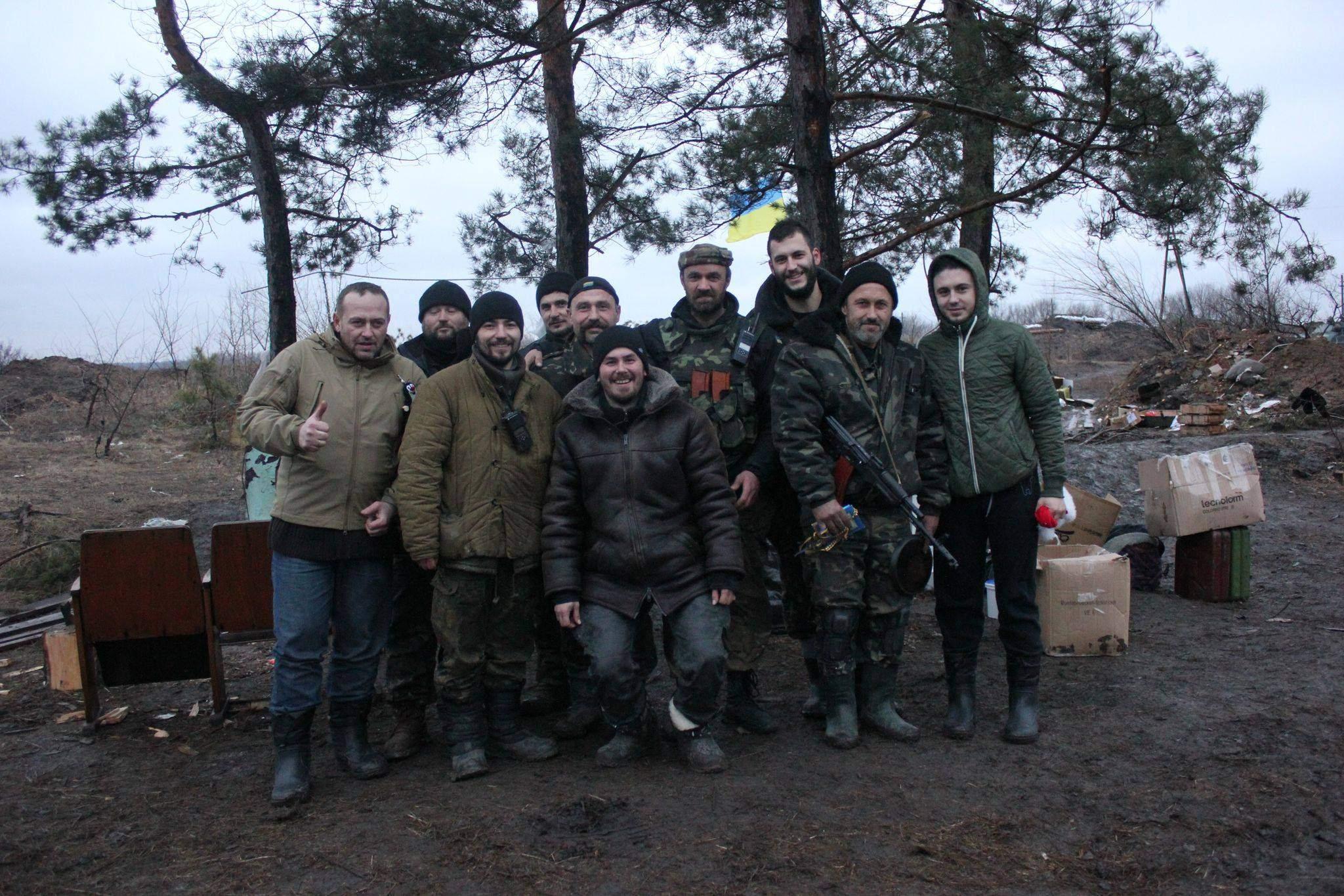 тарас тополя волонтерство війна на донбасі