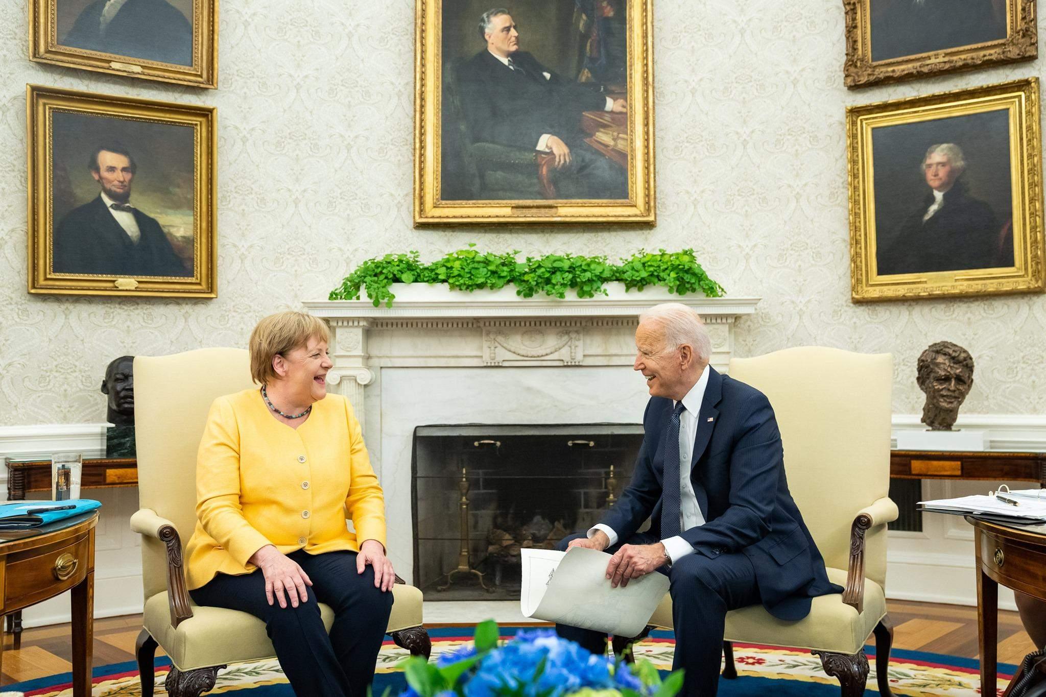 Байден і Меркель