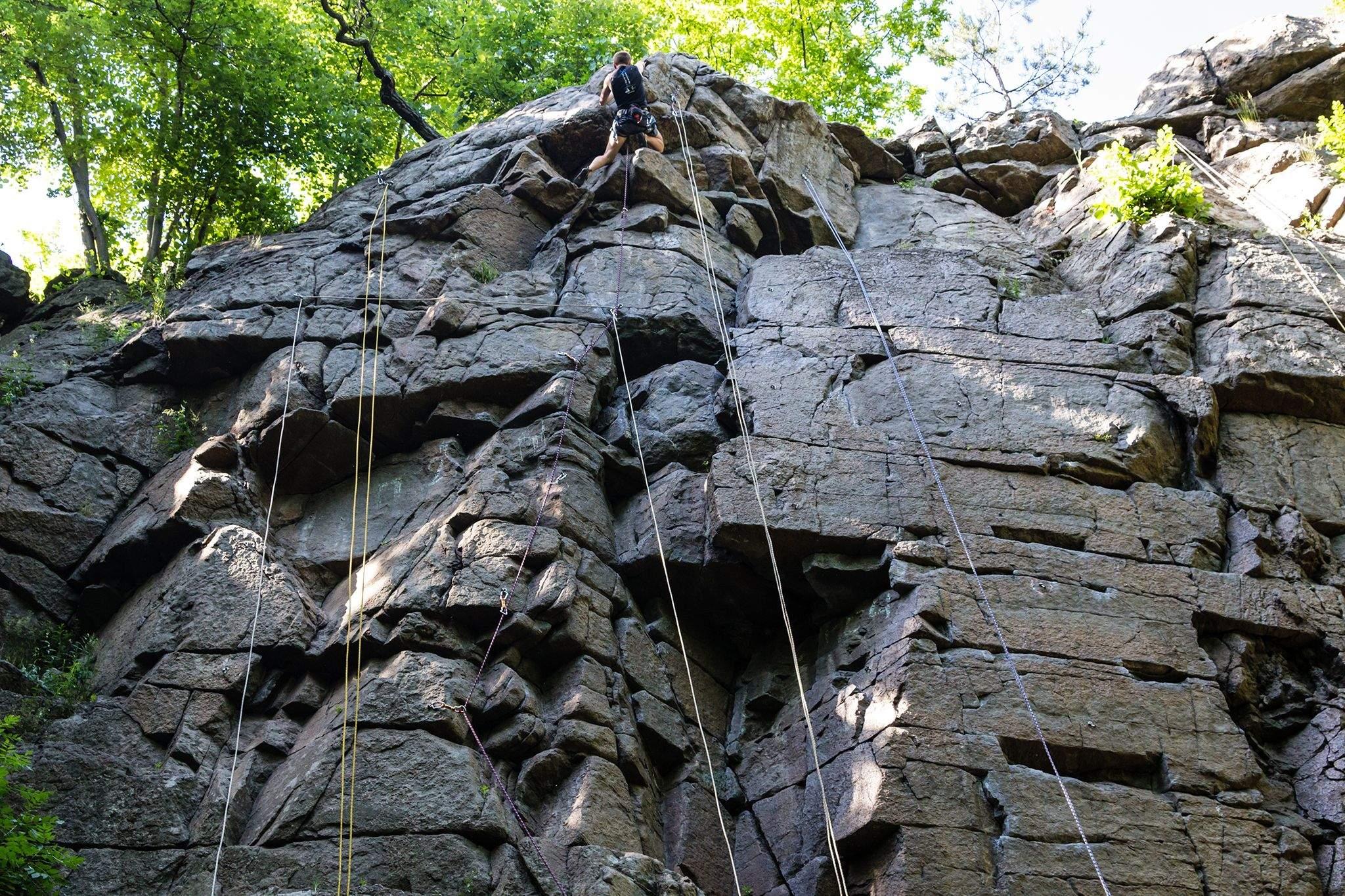 альпінізм в Денішах
