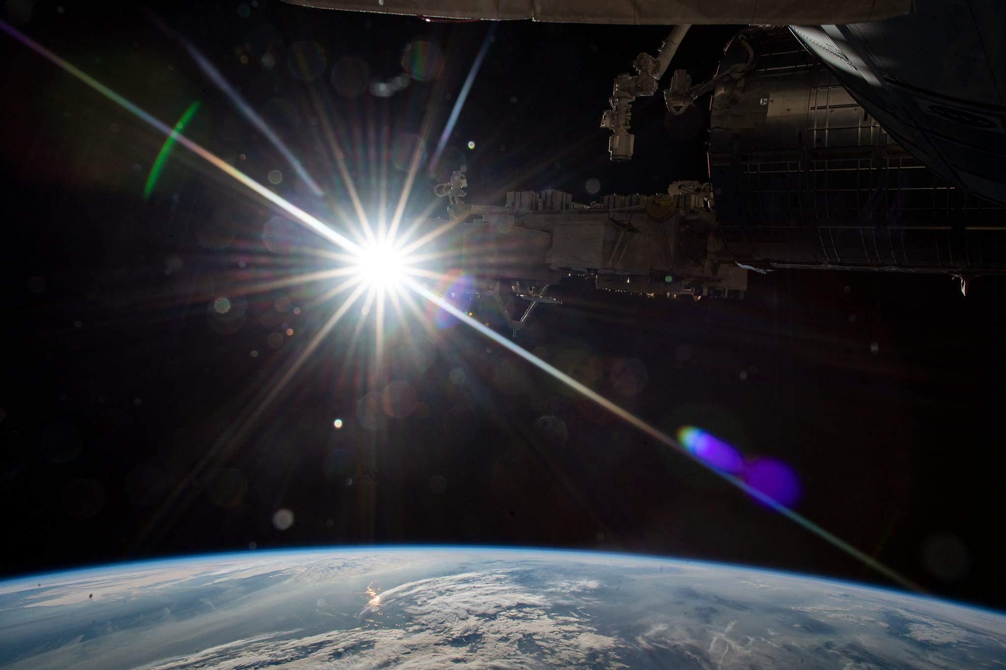 Сонце з МКС