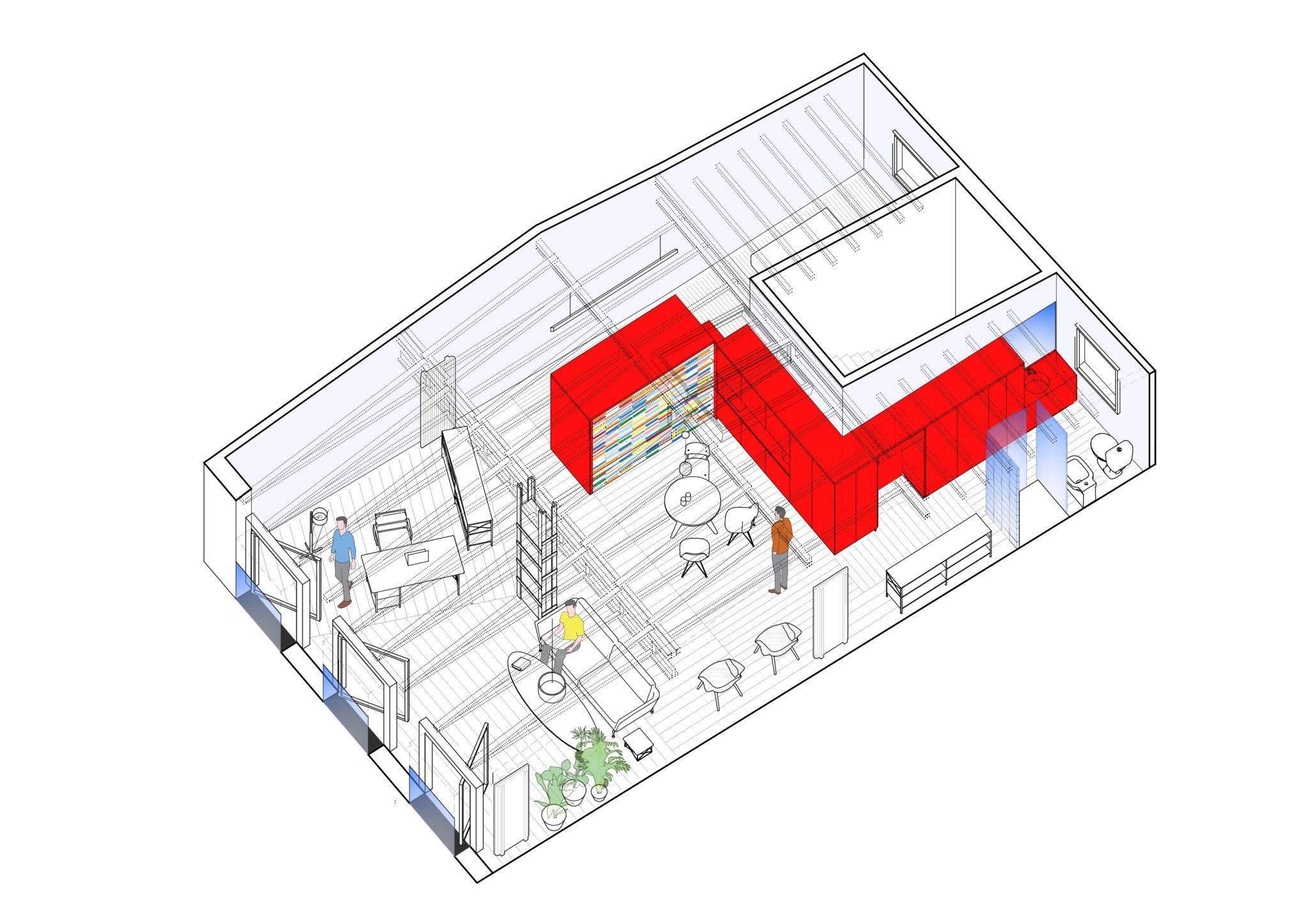 Реконструкція мансардного приміщення у Мадриді