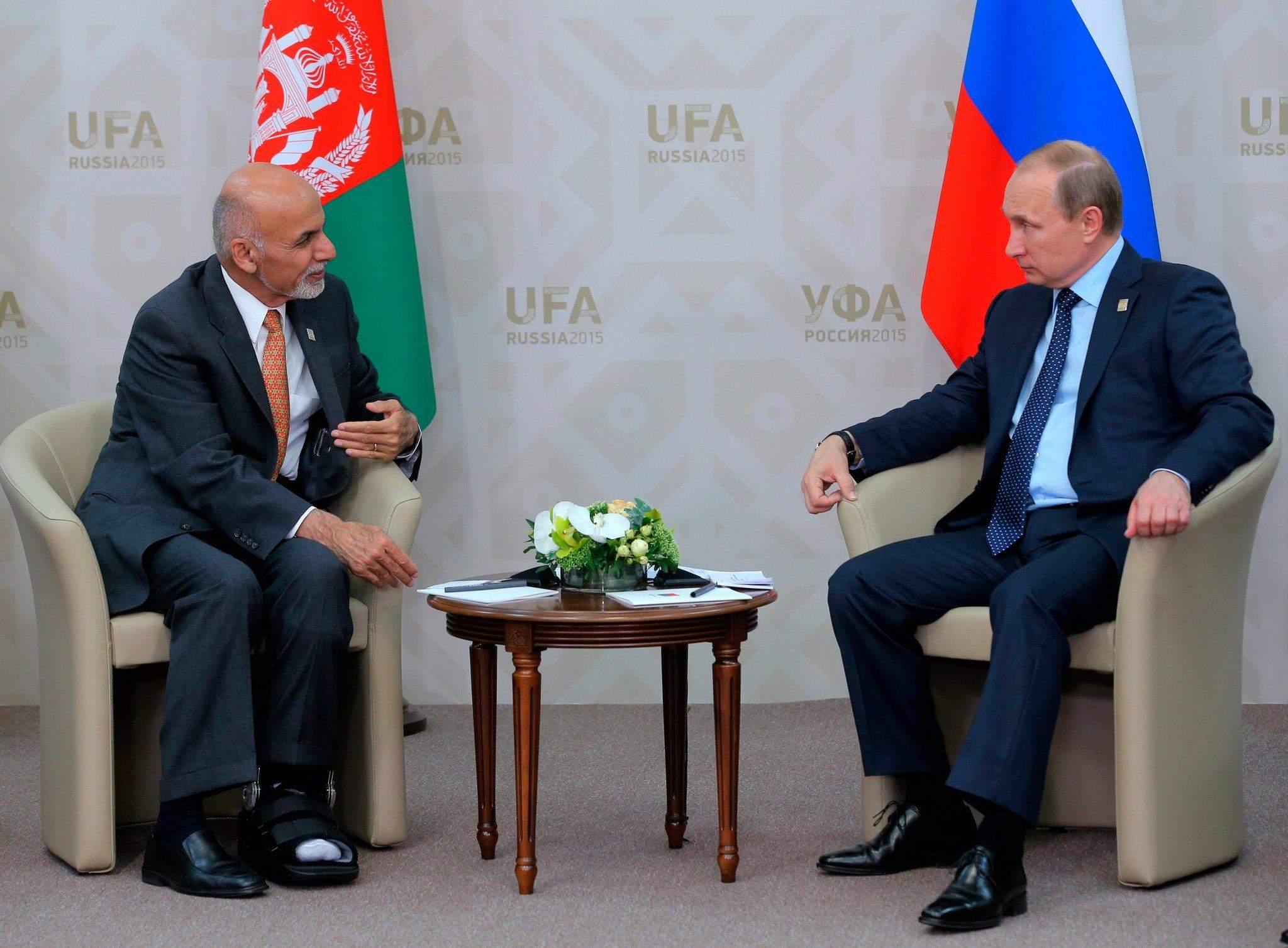 Путин в Афганистане