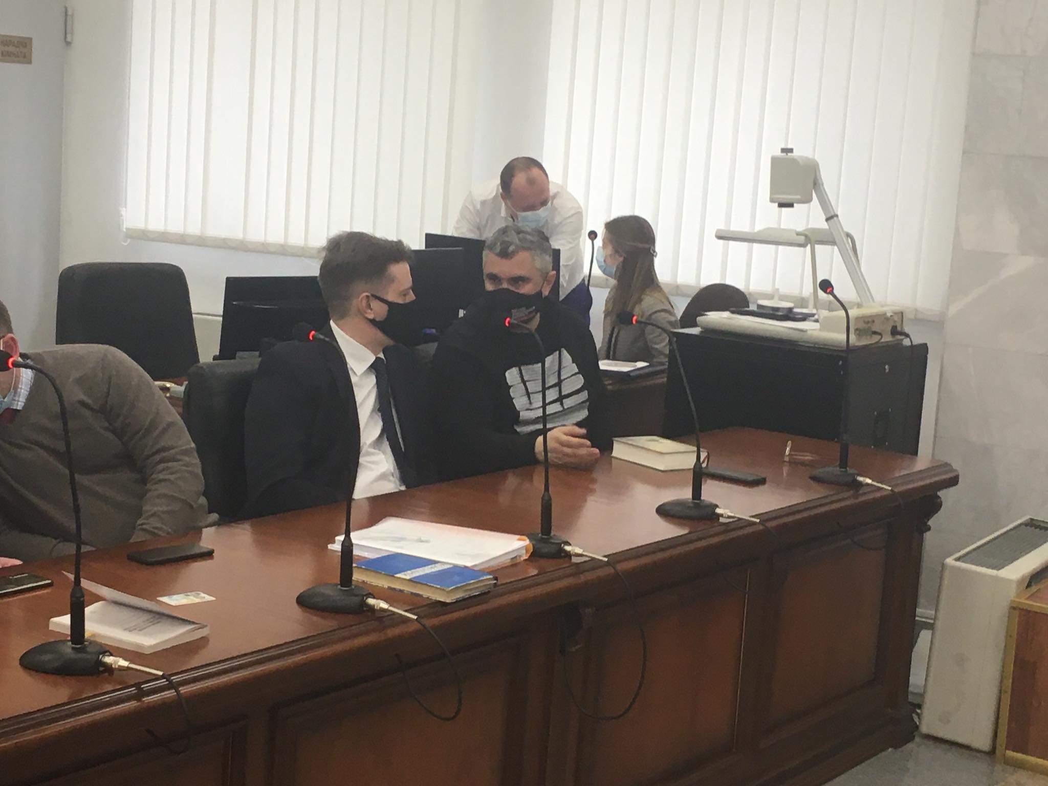 Вахтанг Кіпіані на суді