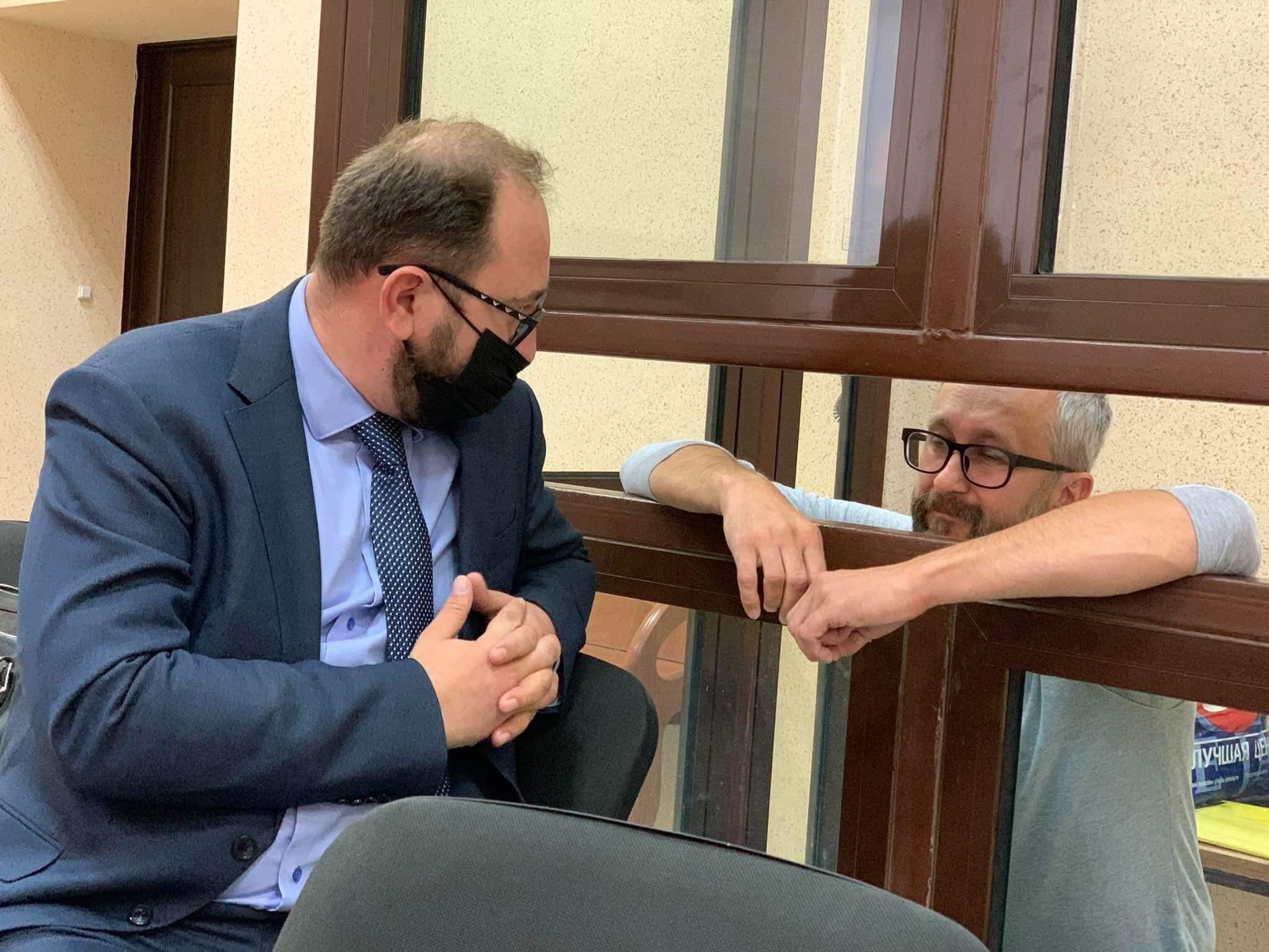 Джелялов з адвокатом