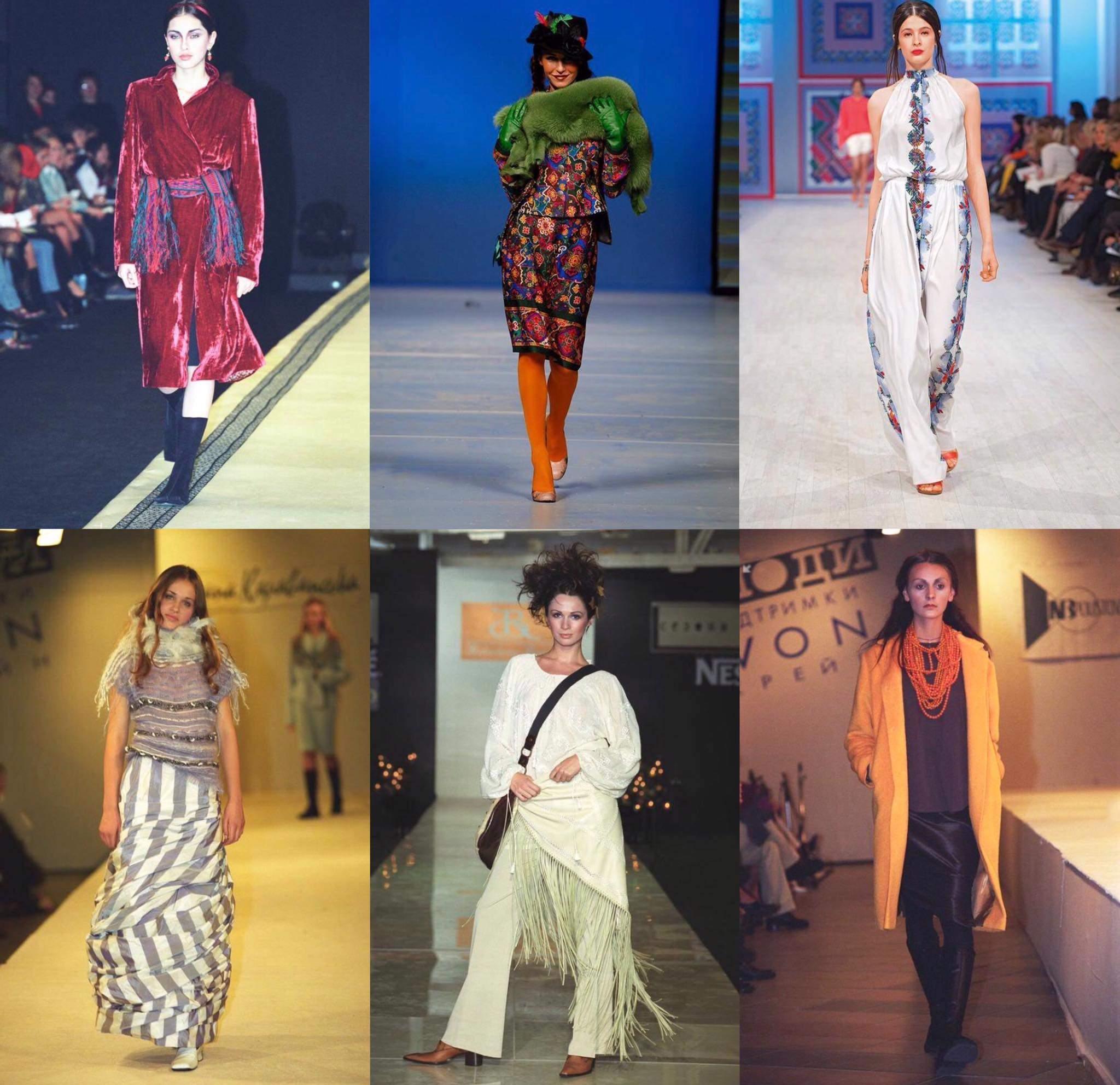 Фото с первых показов Ukrainian Fashion Week