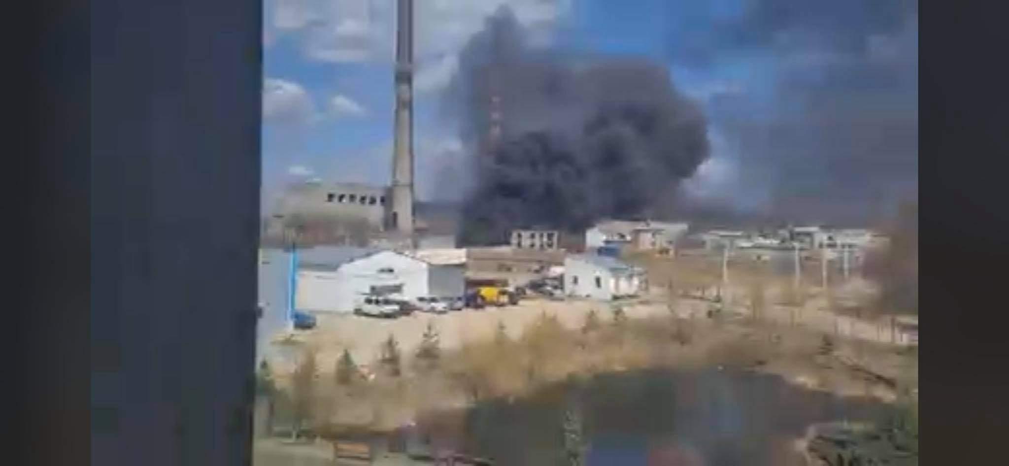 Величезні хмари чорного диму: у Львові трапилась масштабна пожежа – фото і відео