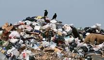 Українські села потерпають від сміття