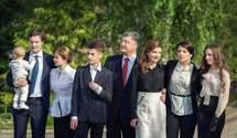 Незвичні традиції, навчання за кордоном, проте не без скандалів: що відомо про родину Порошенка